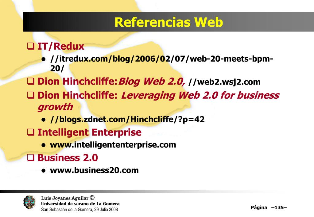 Referencias Web