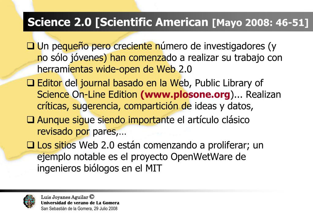 Science 2.0 [Scientific American