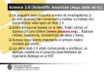 science 2 0 scientific american mayo 2008 46 51