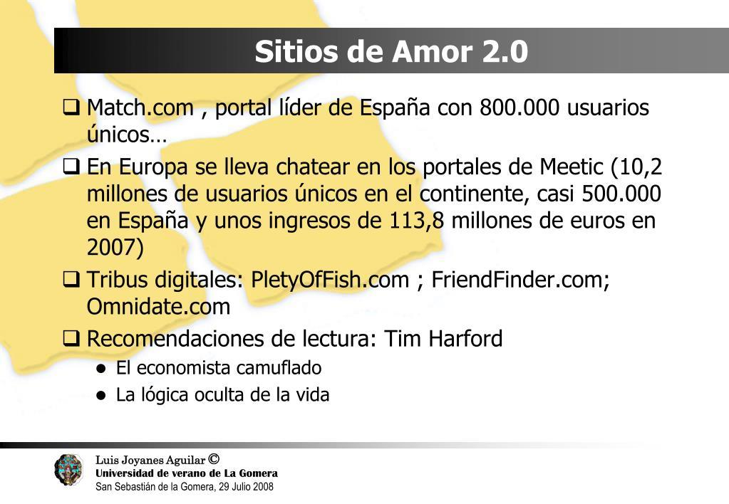 Sitios de Amor 2.0