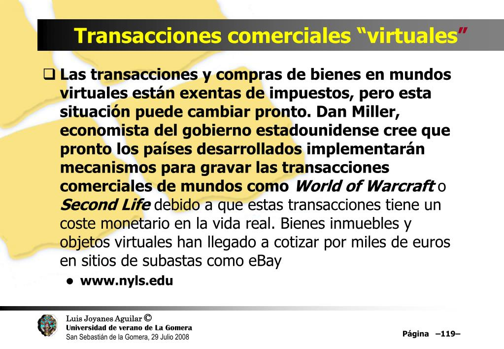 """Transacciones comerciales """"virtuales"""