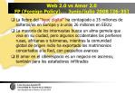 web 2 0 vs amor 2 0 fp foreign policy junio julio 2008 26 35