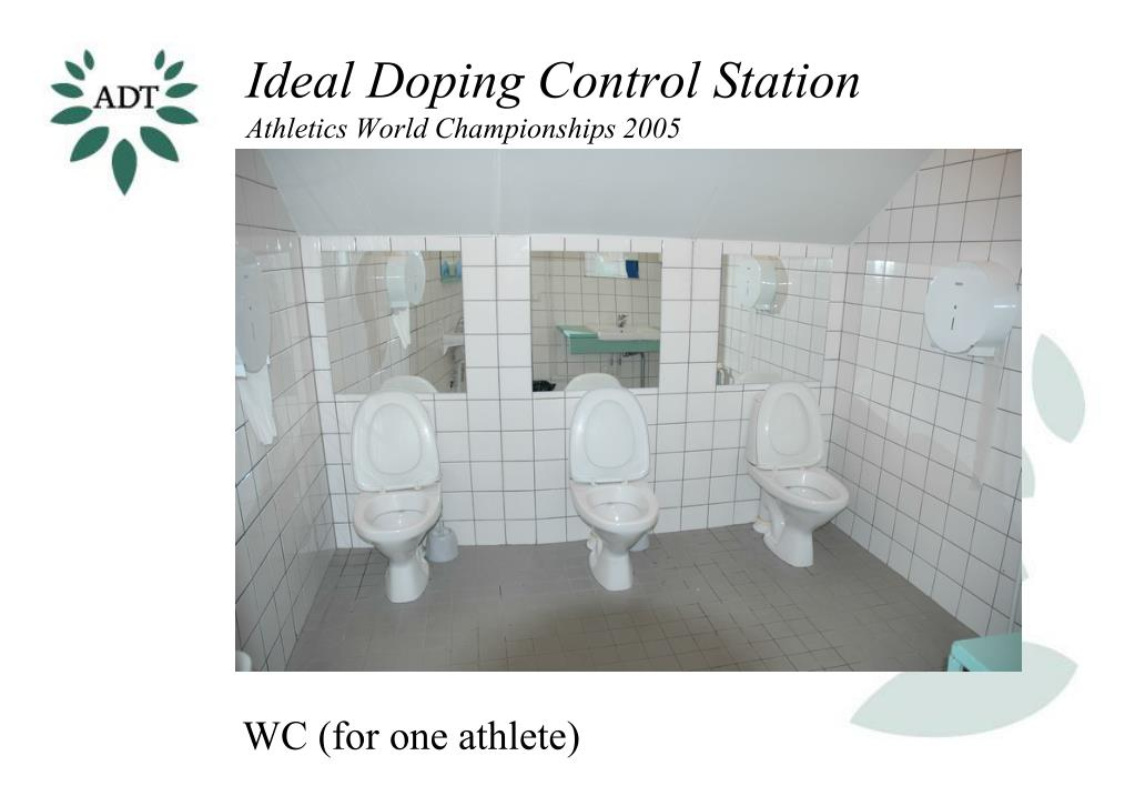Ideal Doping Control Station