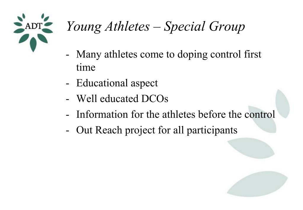 Young Athletes – Special Group
