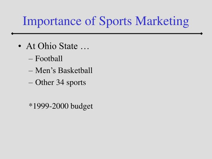 Importance of sports marketing3