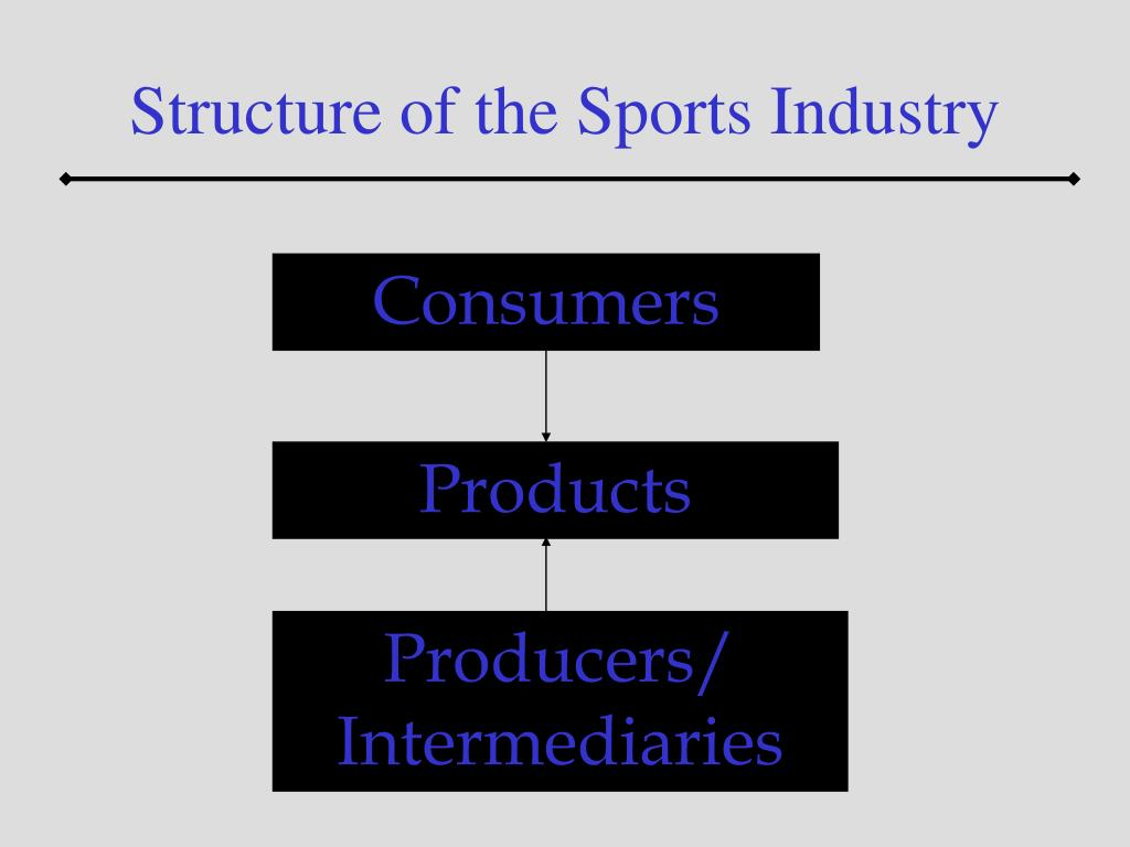Structure of the Sports Industry