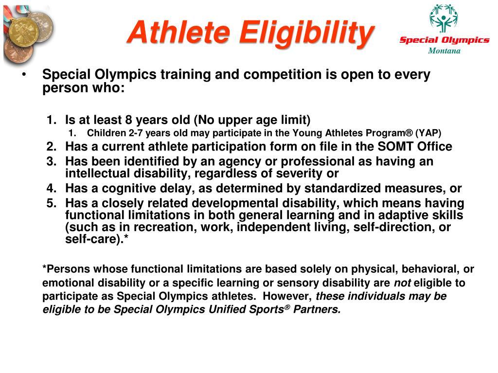 Athlete Eligibility