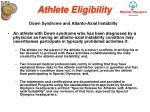 athlete eligibility22