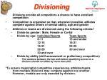 divisioning