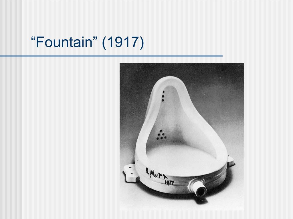 """""""Fountain"""" (1917)"""