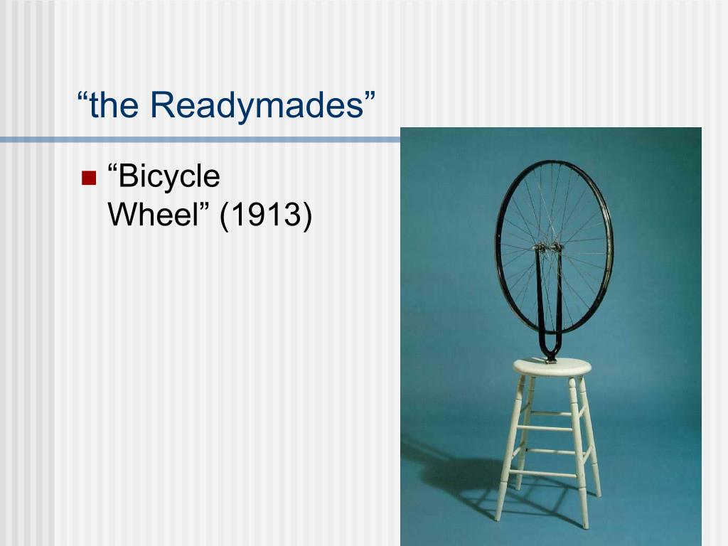"""the Readymades"""