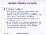 radiation shielding information8