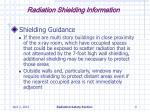 radiation shielding information9