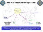 jmetc support for integral fire