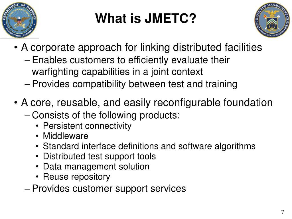 What is JMETC?