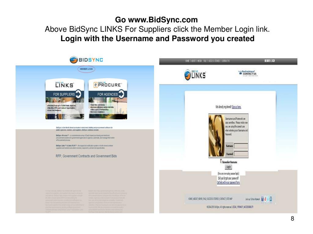 Go www.BidSync.com