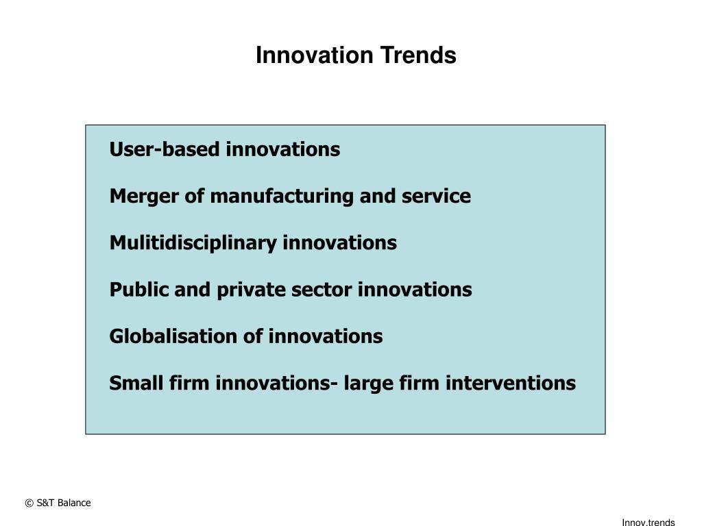 Innovation Trends