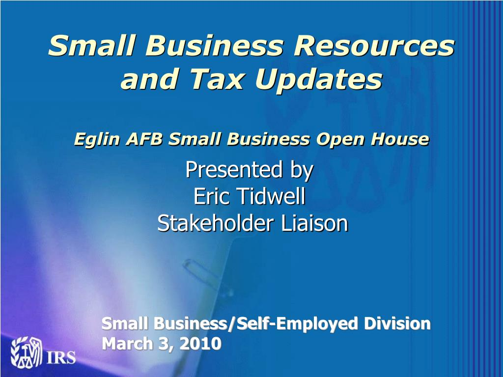 Small Business Resources and Tax Updates