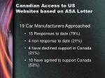 canadian access to us websites based on asa letter