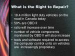 what is the right to repair