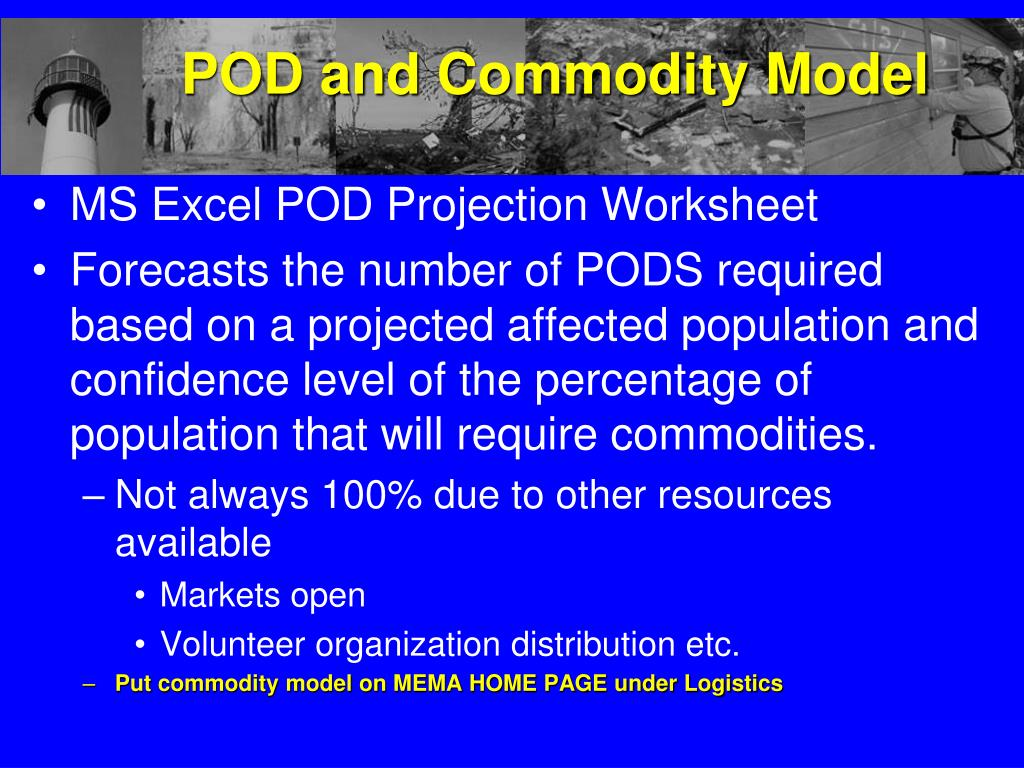 POD and Commodity Model