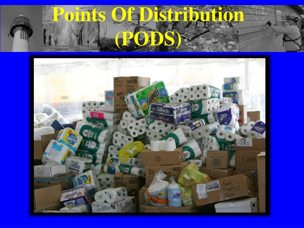 Points Of Distribution (PODS)