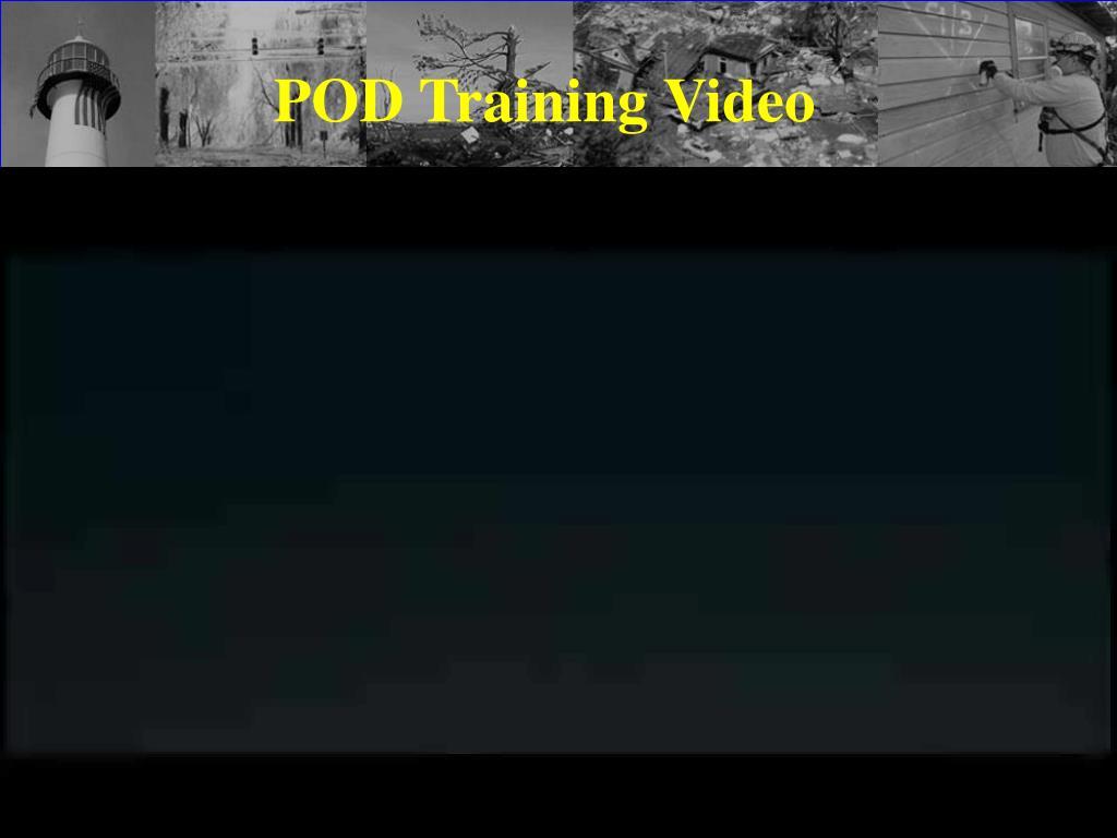 POD Training Video
