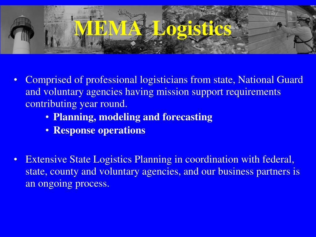 MEMA  Logistics