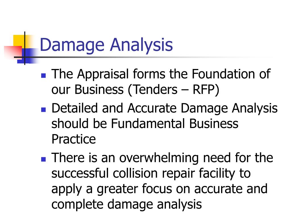 Damage Analysis