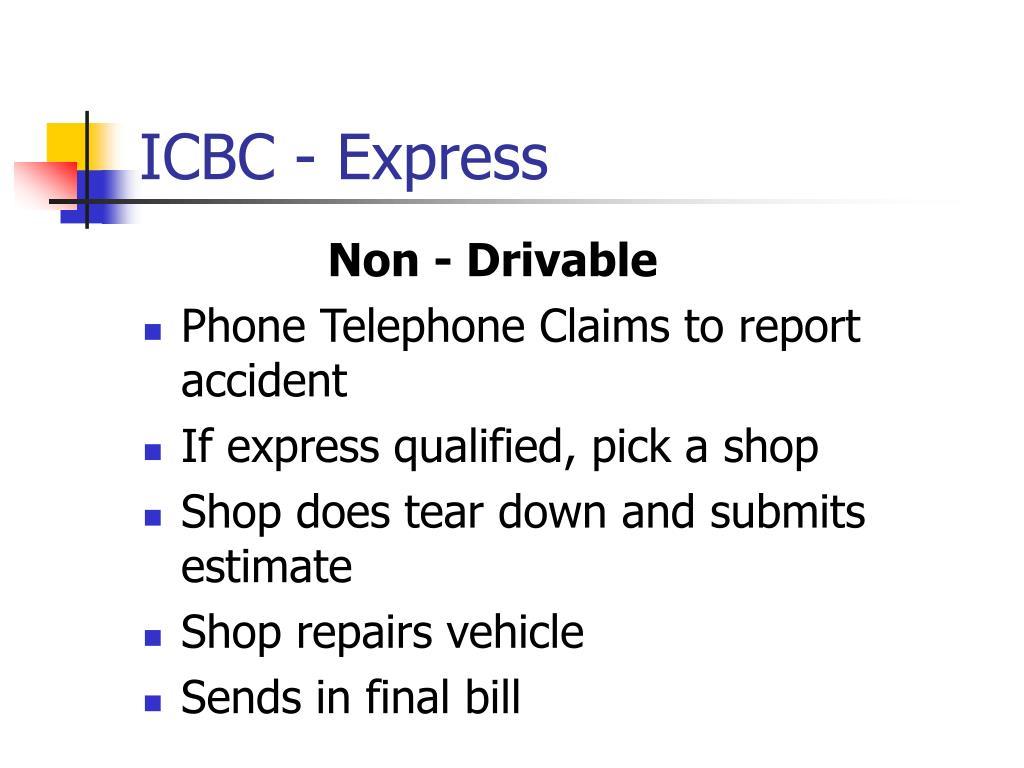 ICBC - Express