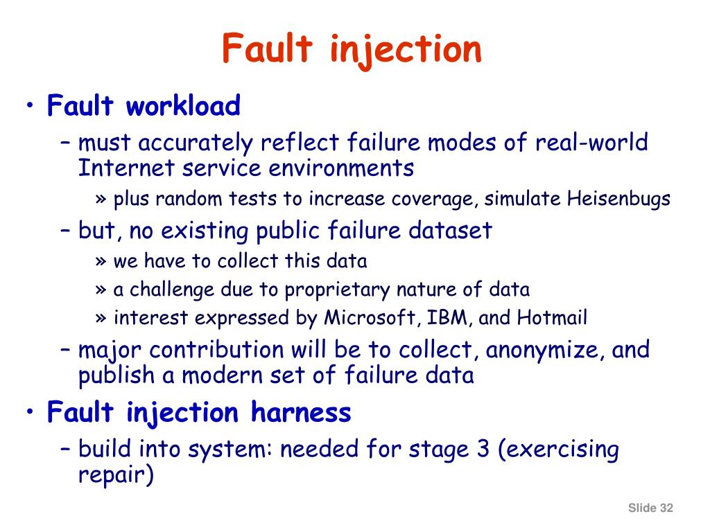 Fault injection