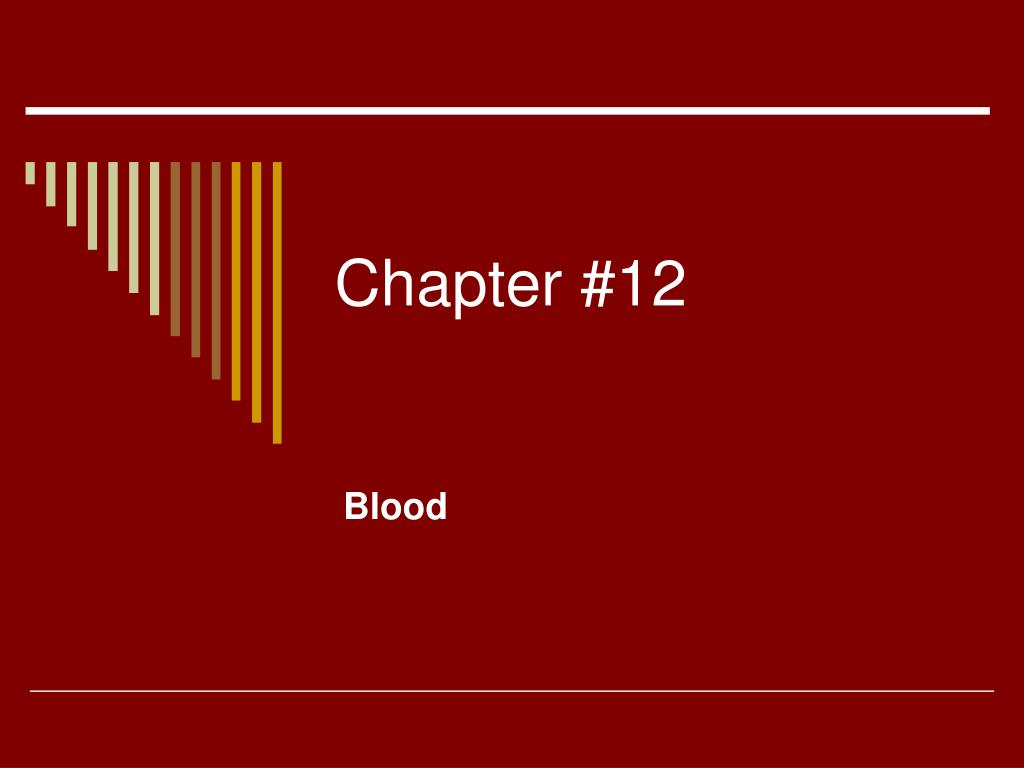 Chapter #12