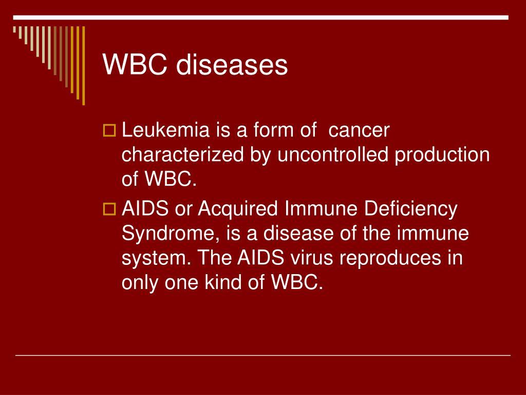 WBC diseases