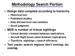 methodology search portion