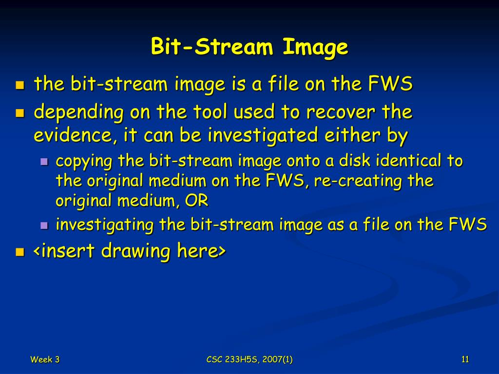 Bit-Stream Image