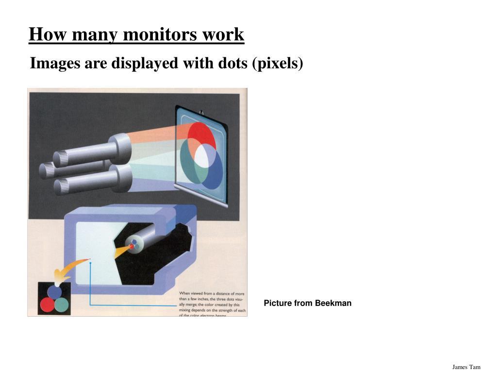 How many monitors work