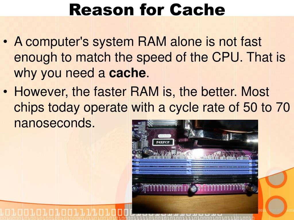 Reason for Cache