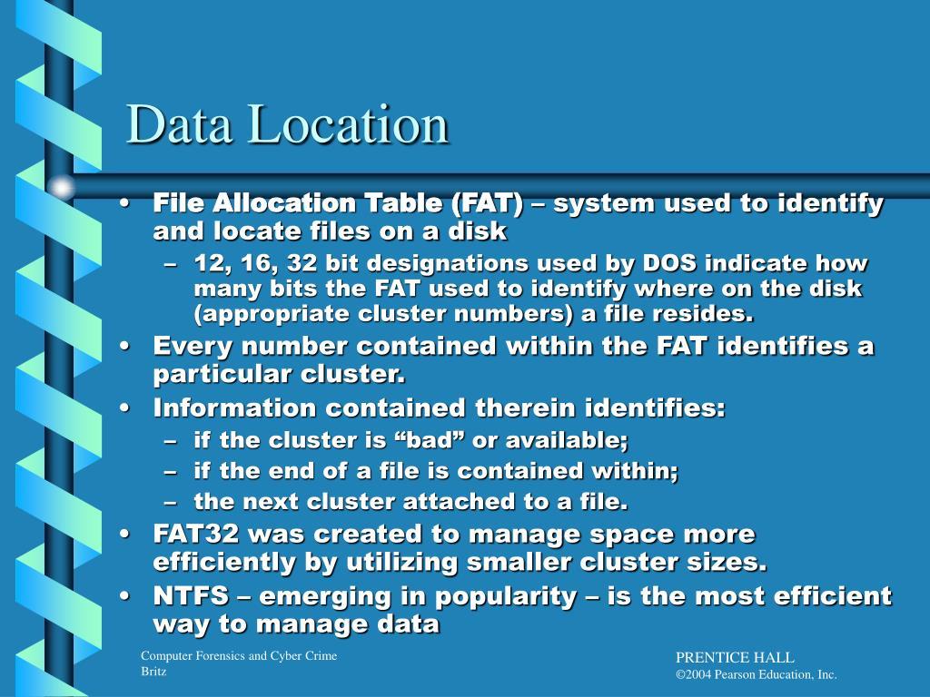 Data Location