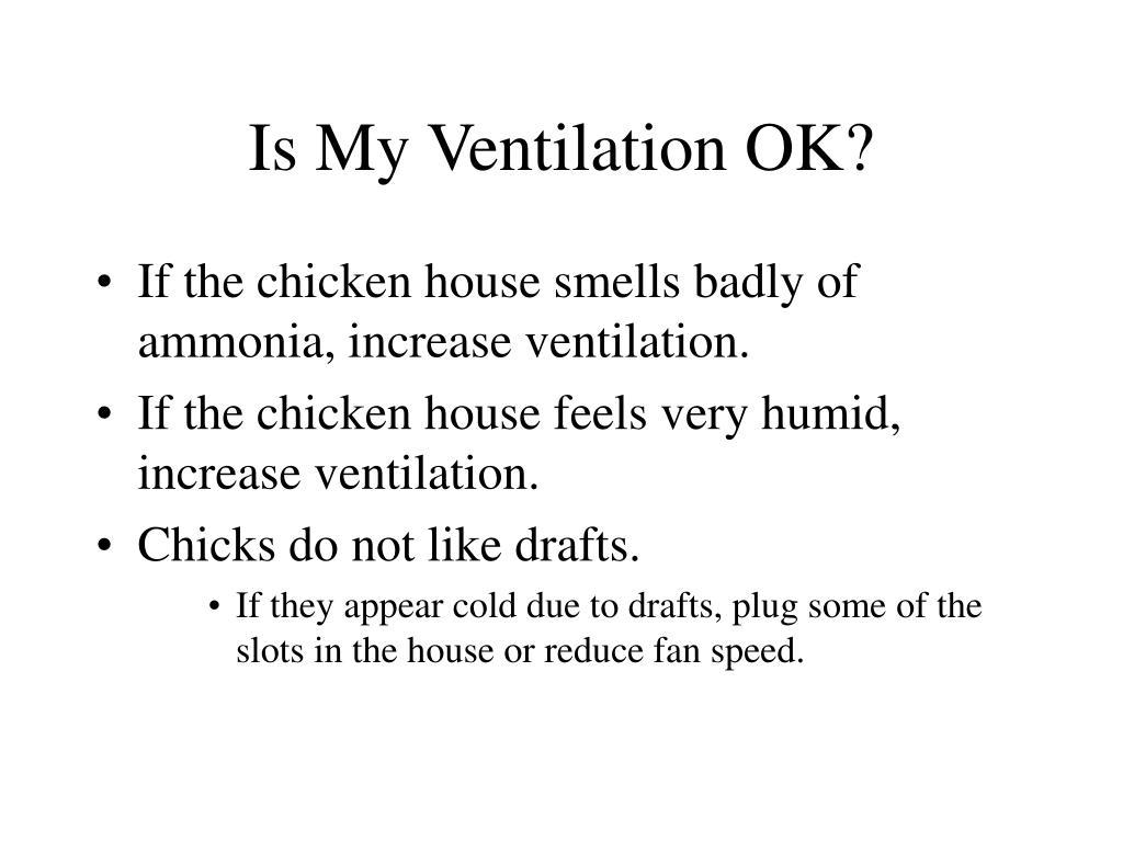 Is My Ventilation OK?