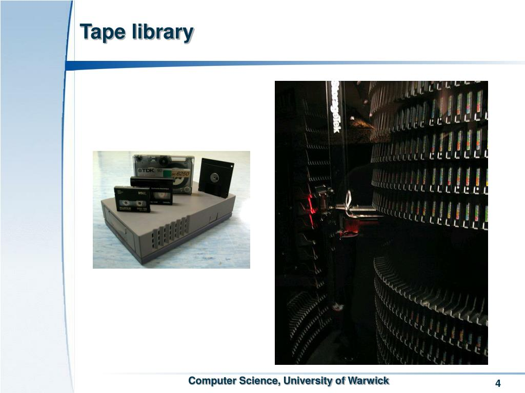 Tape library