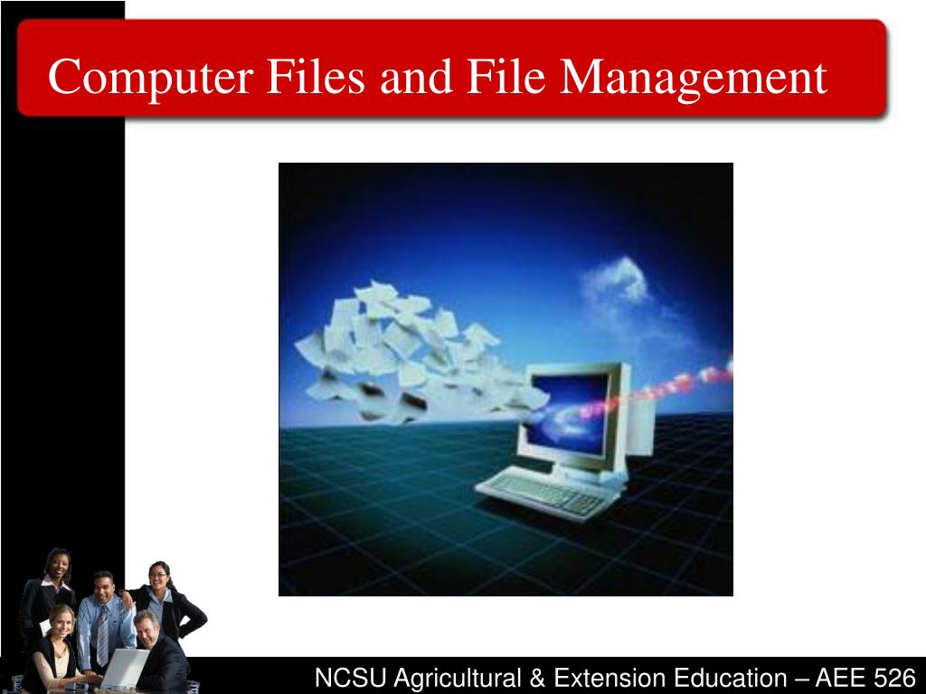 Computer Files and File Management