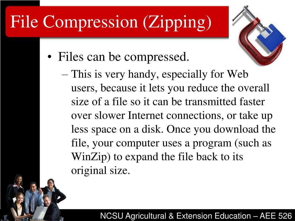 File Compression (Zipping)