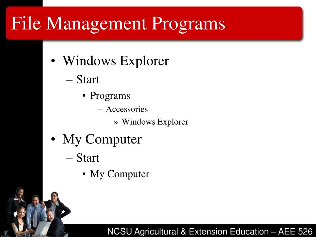 File Management Programs