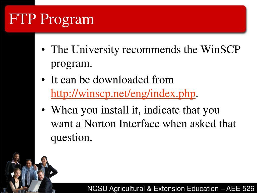 FTP Program