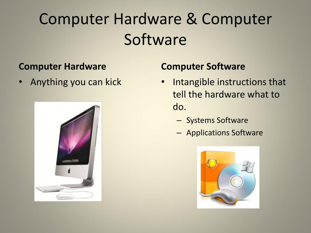 Computer Hardware & Computer Software