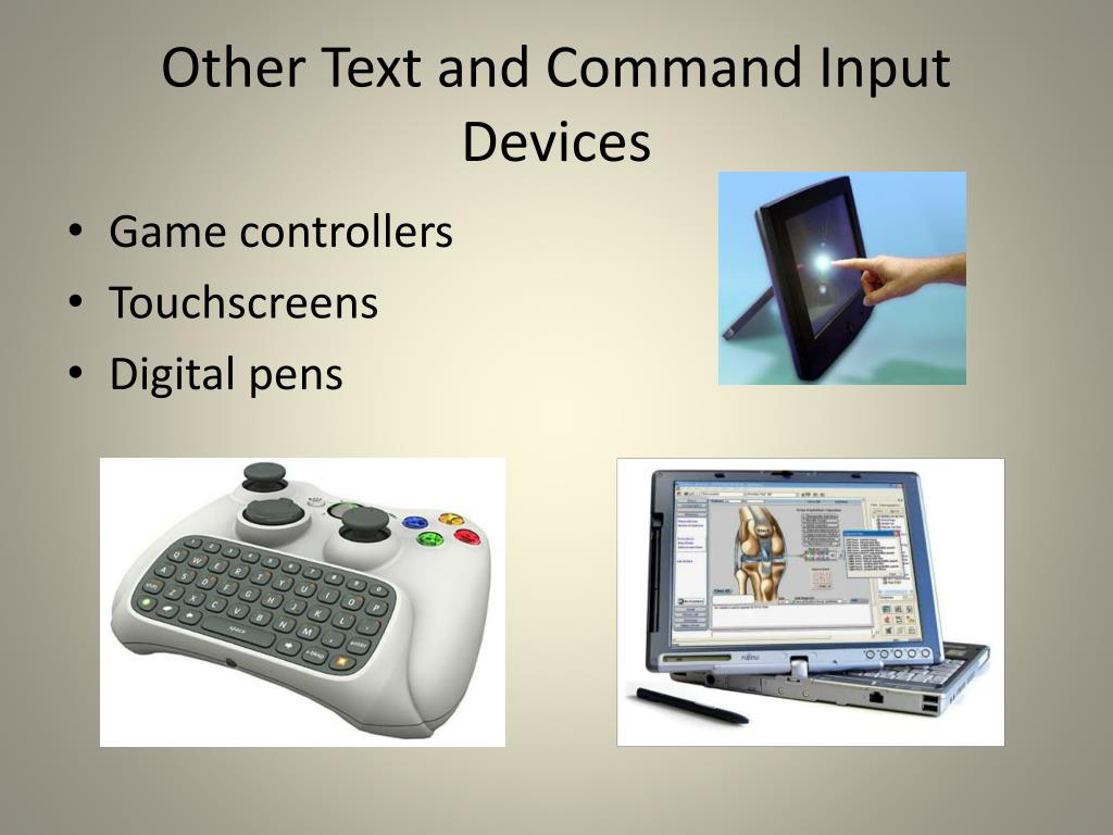 Other Text and Command Input Devices