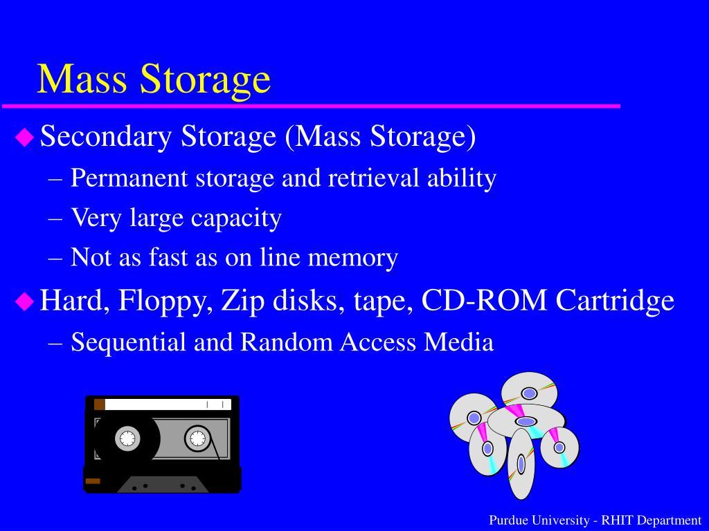 Mass Storage