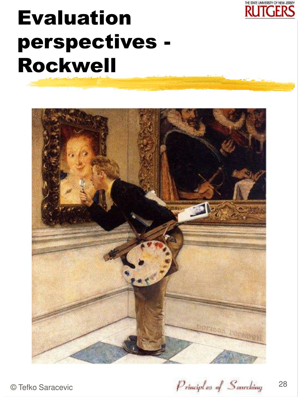 Evaluation perspectives -  Rockwell