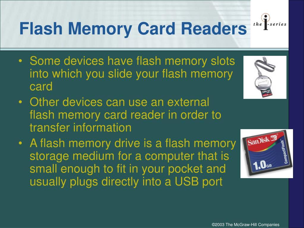 Flash Memory Card Readers