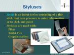 styluses